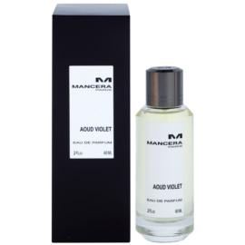 Mancera Aoud Violet eau de parfum para mujer 60 ml
