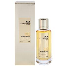 Mancera Gold Intensive Aoud eau de parfum mixte 60 ml