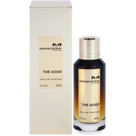 Mancera The Aoud Eau de Parfum unissexo 60 ml