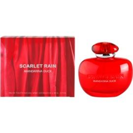 Mandarina Duck Scarlet Rain Eau de Toilette für Damen 100 ml