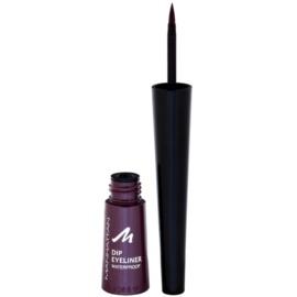Manhattan DIP Eyeliner tekuté oční linky odstín 69P Violett 2,5 ml