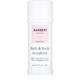 Marbert Bath & Body Sensitive Cream Deo-Stick 24 Std.  40 ml