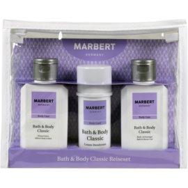 Marbert Bath & Body Classic darilni set IV.  gel za prhanje in kopel 100 ml + deo-stick 40 ml + losjon za telo 100 ml