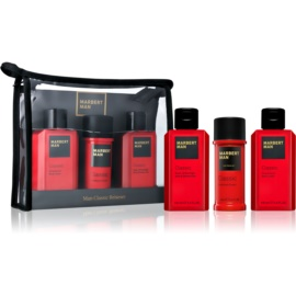 Marbert Man Classic Geschenkset III.  Dusch - und Badegel 100 ml + Deo-Stick 40 ml + Körperlotion 100 ml
