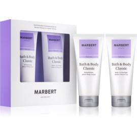 Marbert Bath & Body Classic zestaw upominkowy I.  żel pod prysznic 200 ml + mleczko do ciała 200 ml