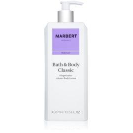 Marbert Bath & Body Classic mleczko do ciała dla kobiet 400 ml