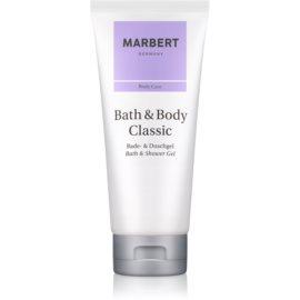 Marbert Bath & Body Classic gel za prhanje za ženske 200 ml