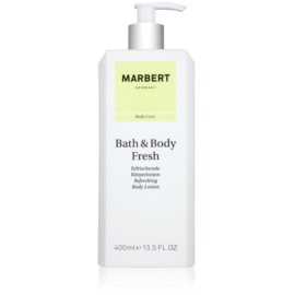 Marbert Bath & Body Fresh Körperlotion für Damen 400 ml