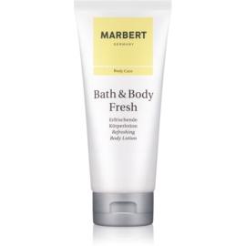 Marbert Bath & Body Fresh testápoló tej nőknek 200 ml