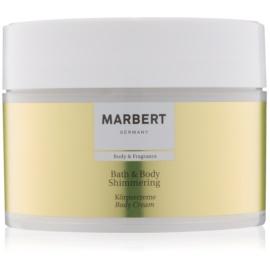Marbert Bath & Body Shimmering creme corporal  250 ml