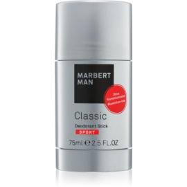Marbert Man Classic Sport desodorizante em stick para homens 75 ml