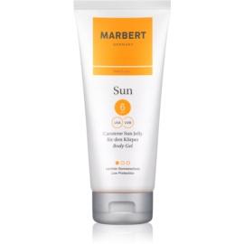 Marbert Sun Carotene Sun Jelly Bronzing Body Gel SPF 6  200 ml