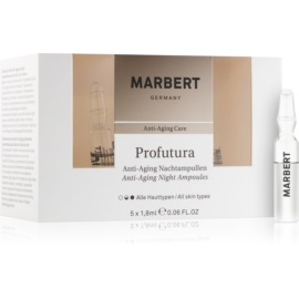 Marbert Anti-Aging Care Profutura Night Ampoule Anti-Aging  5 x 1,8 ml