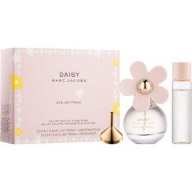 Marc Jacobs Daisy Eau So Fresh coffret cadeau  eau de toilette rechargeable 20 ml + eau de toilette recharge 15 ml