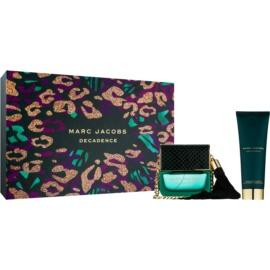 Marc Jacobs Decadence darilni set II.  parfumska voda 50 ml + losjon za telo 75 ml