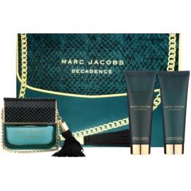 Marc Jacobs Decadence dárková sada I.  parfemovaná voda 100 ml + tělové mléko 75 ml + sprchový gel 75 ml