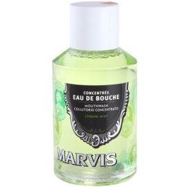 Marvis Strong Mint enjuague bucal  120 ml
