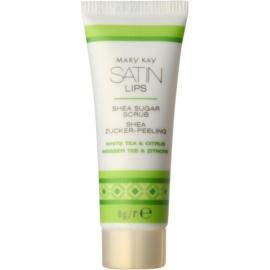 Mary Kay Satin Lips exfoliant din zahar pe/pentru buze  8 g