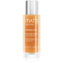 MATIS Paris Réponse Corps Shimmering Dry Oil for Face, Body and Hair  50 ml