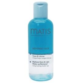 MATIS Paris Réponse Yeux kétrétegű smink lemosó a szem köré és a szájra  150 ml
