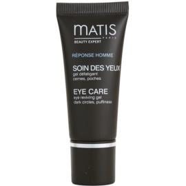 MATIS Paris Réponse Homme gel de contorno de olhos contra olheiras e inchaços  15 ml