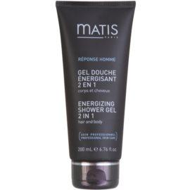 MATIS Paris Réponse Homme sprchový gél a šampón 2 v 1  200 ml