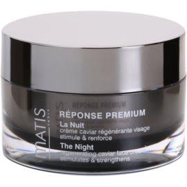 MATIS Paris Réponse Premium Regenerating Night Cream To Deal With Stress  50 ml