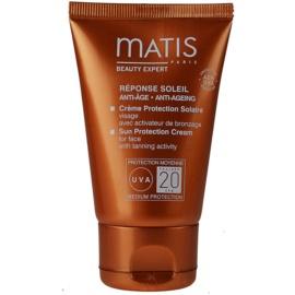 MATIS Paris Réponse Soleil opalovací krém na obličej SPF 20  50 ml