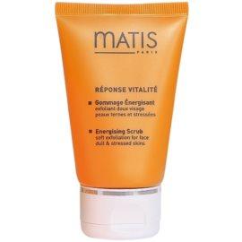 MATIS Paris Réponse Vitalité čisticí peeling pro všechny typy pleti Energising Scrub Peealing 50 ml