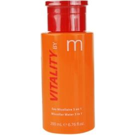 MATIS Paris Vitality by M płyn do demakijażu 3 w 1  200 ml