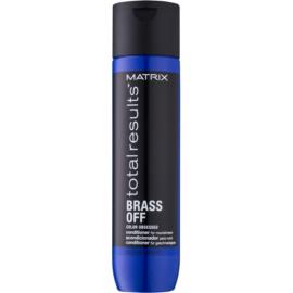 Matrix Total Results Brass Off nährender Conditioner mit feuchtigkeitsspendender Wirkung  300 ml