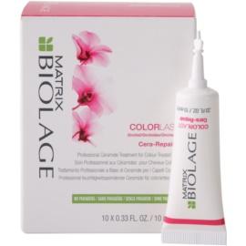 Matrix Biolage Color Last Cera-Repair vlasová kúra pro zářivou barvu vlasů  10x10 ml