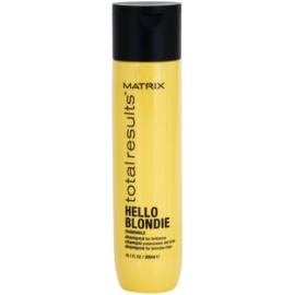 Matrix Total Results Hello Blondie поживний шампунь для освітленого волосся  300 мл