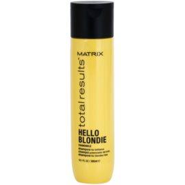 Matrix Total Results Hello Blondie Schützendes Shampoo für blonde Haare  300 ml