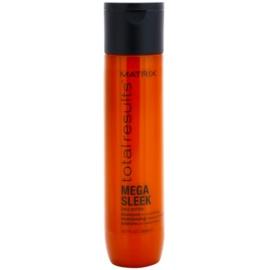 Matrix Total Results Mega Sleek šampon pro nepoddajné a krepatějící se vlasy  300 ml