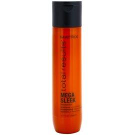 Matrix Total Results Mega Sleek champú para cabello encrespado y rebelde  300 ml