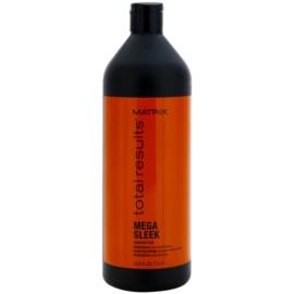 Matrix Total Results Mega Sleek champú para cabello encrespado y rebelde  1000 ml