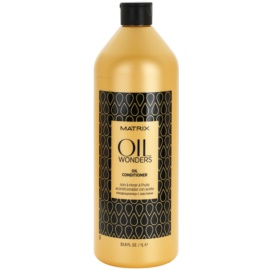 Matrix Oil Wonders Voedende Conditioner  met Arganolie   1000 ml