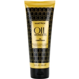 Matrix Oil Wonders balsam hranitor cu ulei de argan  200 ml