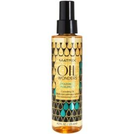 Matrix Oil Wonders tápláló olaj a hullámos és göndör haj fényéért  125 ml