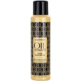 Matrix Oil Wonders spray de ulei pentru o uscare rapida  185 ml