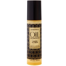 Matrix Oil Wonders Oil Cream para modelação  100 ml