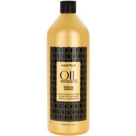 Matrix Oil Wonders mikro-olejový šampón na lesk a hebkosť vlasov  1000 ml
