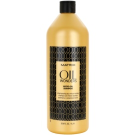 Matrix Oil Wonders Micro-Oil Shampoo For Shine And Softness Of Hair  1000 ml