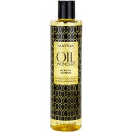 Matrix Oil Wonders mikro-olejový šampón na lesk a hebkosť vlasov  300 ml