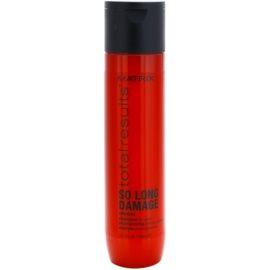Matrix Total Results So Long Damage erneuerndes Shampoo mit Ceramiden  300 ml