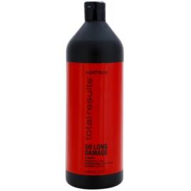 Matrix Total Results So Long Damage erneuerndes Shampoo mit Ceramiden  1000 ml