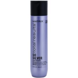 Matrix Total Results So Silver champú protector del color para cabello rubio  300 ml
