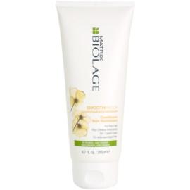 Matrix Biolage SmoothProof condicionador alisante para cabelos crespos e inflexíveis  200 ml