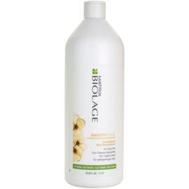 Matrix Biolage SmoothProof condicionador alisante para cabelos crespos e inflexíveis  1000 ml